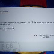 Regalo FCB