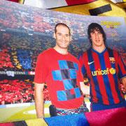 Con Carles Puyol