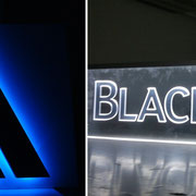 LED Lichtfluter Acrylglas München