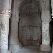 les restes de l'église