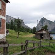la maison et le mont Kure
