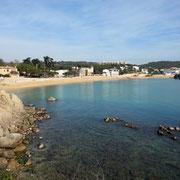 kleiner Strand