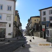 Straße in Viseu