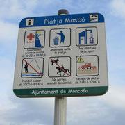 am Playa Masbó in Moncofa