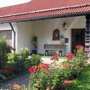Eingangsbereich Fewo Haus Resi - Ferienwohnung in Mähring