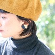 藍染rintoピアス  イヤリング メープル             5.000円