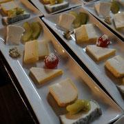 百合香さん盛り付けのチーズたち