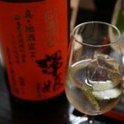 二度目の乾杯は、ビックリ仰天 澤姫 山廃純米のモヒート。 飲みやすさ抜群。