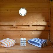 Die original finnische Holzofen-Sauna