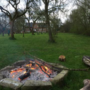 Die Lagerfeuerstelle