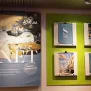 Kooperation zwischen dem Städel Museum und dem Bio-Supermarkt Alnatura zur Monet-Ausstellung 2015