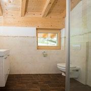 Badezimmer Ferienwohnung Zahmer Kaiser