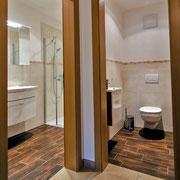 Bad und WC Ferienwohnung Heuberg