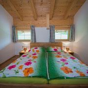 Schlafzimmer Ferienwohnung Zahmer Kaiser