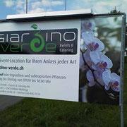 Reklametafel - Giardino Verde