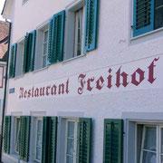 Fassadenbeschriftung - Restaurant Freihof