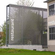 Fassadenbeschriftung - restaurant