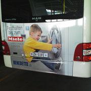 Busbeschriftung - Miele