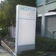 Firmenbeschriftung - INCEPTUS