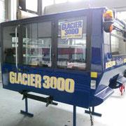 Seilbahnbeschriftung - GLACIER 3000