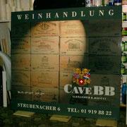 Reklametafel - CAVE BB