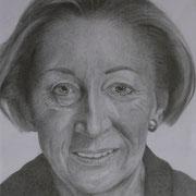 B.T. (Bleistift), 24 x 30 cm, gerahmt