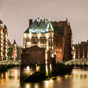 moin hamburch! | warehouse district | wasserschloss | hamburg | germany 2012