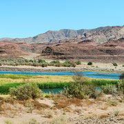 panorama orange river | namibia 2012
