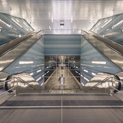 moin hamburch!   underground station ueberseequartier   hamburg   germany 2019