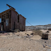 outpost between the towns grillenthal and pomona | diamant restricted | namibia 2015
