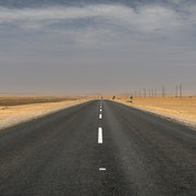 street to nowhere | swakpomund | namibia 2015