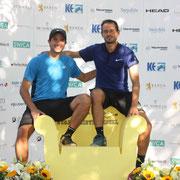 Stadtmeister-Herrendoppel Pietro Michod und Juan Escobar (R3/N4 111), MD N1-R9