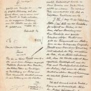 Gründungsurkunde 1821