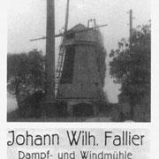 Dampf-Windmühle