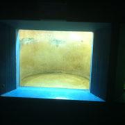 Verkratze Aquariumscheibe - Fertig