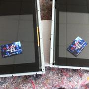 Glaskratzer aus Hochleistungsscanner entfernen - Gruppenfoto ;-)