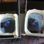 Glaskratzer aus Hochleistungsscanner entfernen - Jetzt noch die Glasreinigung