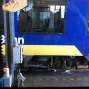 Glaskratzer Bahnscheibe - Polierstufe