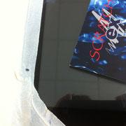 Glaskratzer aus Hochleistungsscanner entfernen - Kratzer aus Glas beseitigt
