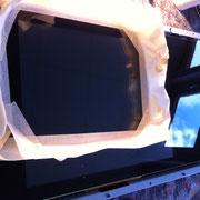 Glaskratzer aus Hochleistungsscanner entfernen - Der Scanner