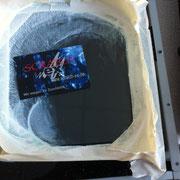 Glaskratzer aus Hochleistungsscanner entfernen - Auch dieser Glaskratzer ist weg