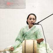 Korean singer and performer In-hye PARK