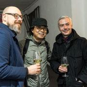 Kevin THOMA (hw design), Sung Taek HONG (Hongdesign) and Alexander RENNER (hw design)