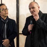 Chang Sik KIM and Boris KOCHAN - opening words