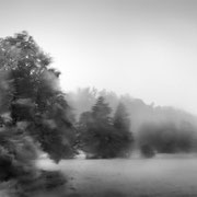 """Rain and storm 01, b&w, august 2013 (printed on """"bamboo"""")"""