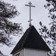 Die christlich orthodoxe Kirche in Sevettijärvi.