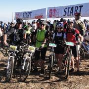 Start auf 3000 Meter direkt unterhalb des Mount Kenya