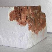 Noch einmal von der Seite, hier wurde eine andere Technik für die Felsstruktur angewandt.