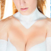 bodypaint emma frost, cosplay emma frost, queen of ice bodypaint, bodypaint madrid bodypainting madrid