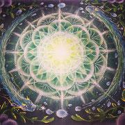 宇宙と繋がる曼荼羅アート